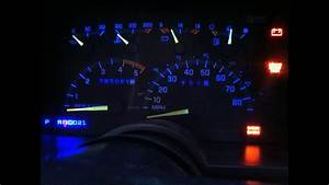 88-98 Chevy  Gmc Instrument Pannel Led Install