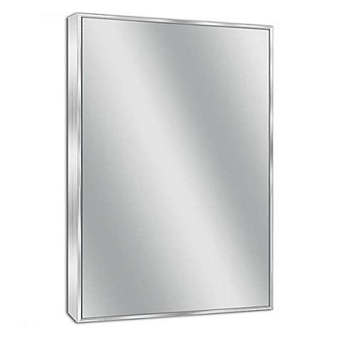 Chrome Framed Bathroom Mirror by Buy Spectrum 24 Inch X 30 Inch Rectangular Framed Wall