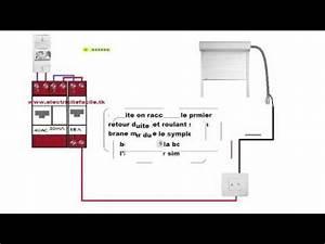 Branchement Volet Roulant électrique : schema raccordement cablage installation volet roulant ~ Melissatoandfro.com Idées de Décoration