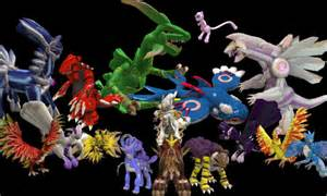 Legendary Spore Pokemon