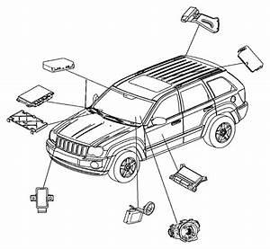 Dodge Ram 1500 Module  Rain Sensor  Areas  Vechile