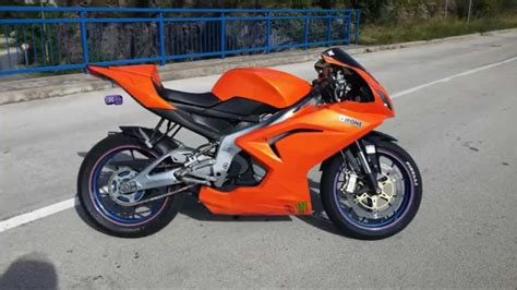 Aprilia Rs125 22kw Tuning Project 2015