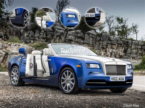 2018 Rolls Royce Dawn Photos Informations Articles