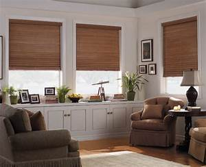 levolor 2quot premium wood blinds from blindscom With wooden window designs for living room