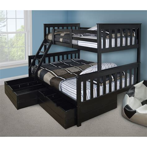 bunk bed versaloft mission bunk bed bunk beds