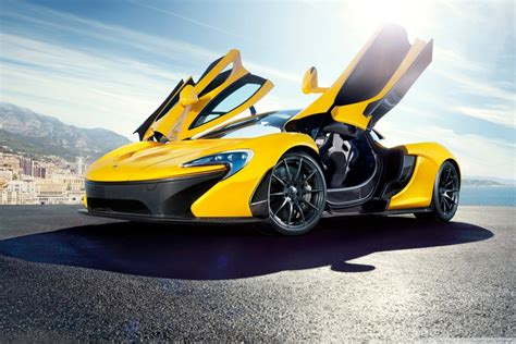 2014 Mclaren P1 Yellow 4k Hd Desktop Wallpaper For 4k