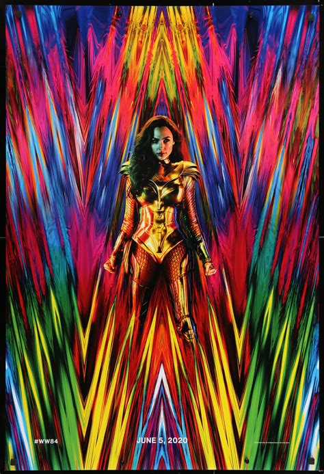 Shop wonder woman 1984 posters and art prints created by independent artists from around the globe. Wonder Woman 1984 Vintage Movie Poster | 1 Sheet (27x41 ...