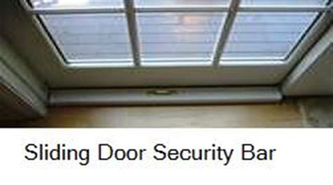 sliding patio door security bar how to make a sliding door security bar