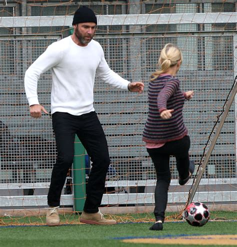 Naomi Watts and Liev Schrieber were spotted playing ...