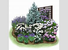 Cozy Corner Garden Plan