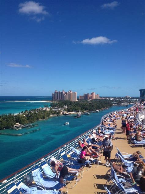 deck west nassau bahamas royal caribbean paradise island and nassau on