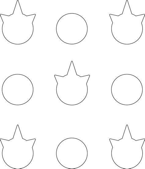 Unicorn Template Unicorn Macarons Nerdy Nummies Macaron Template