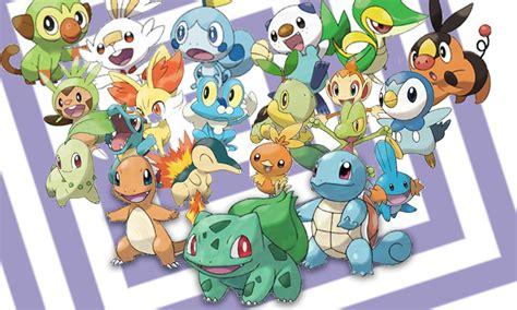 The Definitive Ranking Of Every Pokémon Starter