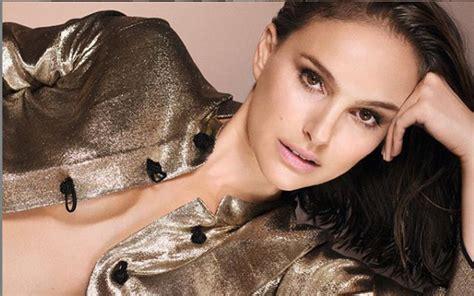 Natalie Portman Goes Topless Actress Featured Dior