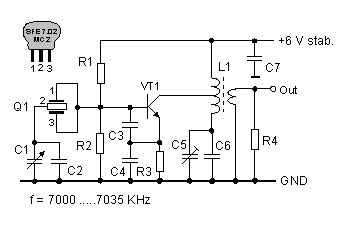 Radio Circuits Blog Vfo With Ceramic Resonator