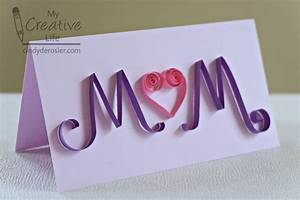 Quilled Mother's Day Card | Fun Family Crafts