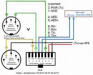Variax Midi Breakout Cable  U2013 Ben Craven