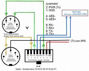 Midi Wiring Diagram Midi Pinout Diagram Midi Image Wiring