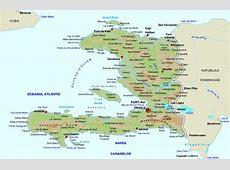 Harta Haiti, drapel Haiti, statistica Haiti, harti statele