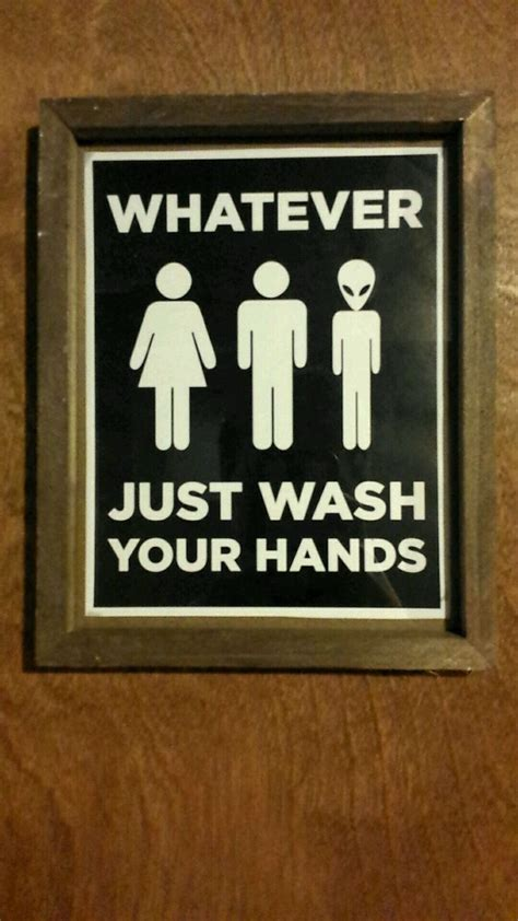 Gender Neutral Bathroom Signs by Best 25 Bathroom Signs Ideas On
