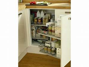 nice rangement d angle cuisine pictures gtgt amacnagement With accessoires de rangement pour cuisine