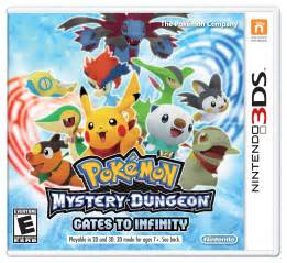 review pokemon mystery dungeon gates to infinity for 3ds
