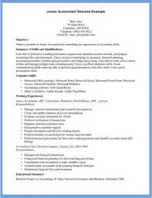 Junior Architect Resume Template by Hey Junior Advance Your Career With This Junior Junior Accountant Resume Exle Free Templates