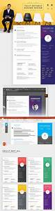 creative resume template illustrator and powerpoint With cv template illustrator