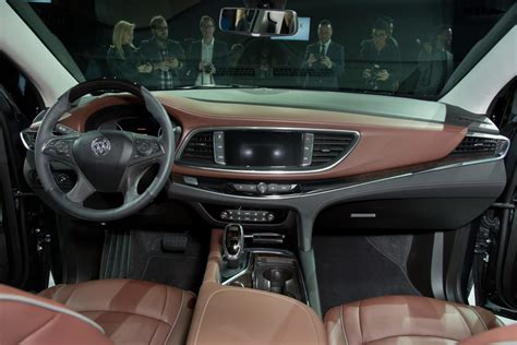 buick enclave interior despite low sales buick lacrosse avenir is coming