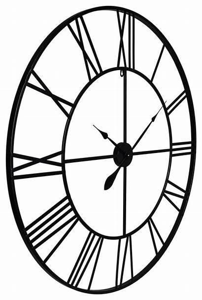 Clock Roman Metal Cut Numeral Clocks Industrial