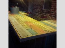 Wood Bar Tops Rustic — Home Ideas Collection How To