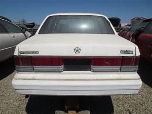 Junkyard Find  1989 Plymouth Acclaim Turbo