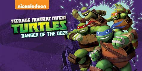 teenage mutant ninja turtles danger   ooze