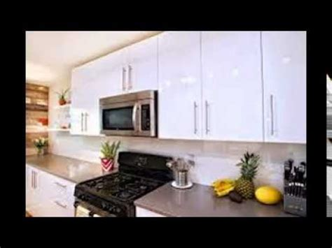 high gloss white kitchen cabinets youtube