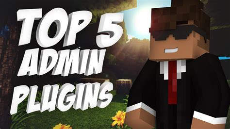 Top 5 Admin Plugins  Minecraft Youtube