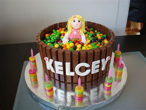 Cakes Decorated With Lollies kelcey s lolly cake flickr photo sharing