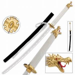 Ginryu Sword Of Kurogane Anime Fantasy Sword   BUDK.com ...