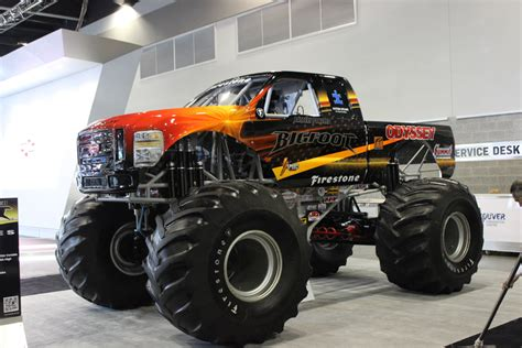 bigfoot electric monster truck best of the 2015 vancouver international auto show wheels ca