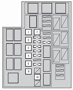 Toyota Rav4  Xa40  From 2015  -fuse Box Diagram