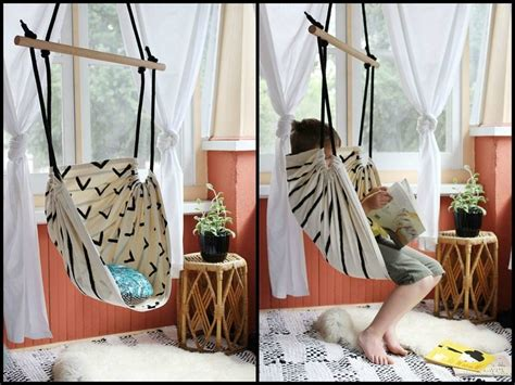 How To Make Your Own Hammock Chair by Diy Swing Projects