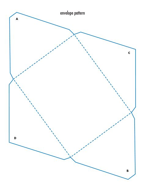 Envelope Template 9 Envelopes Free Printable Designs Images Quarter Fold