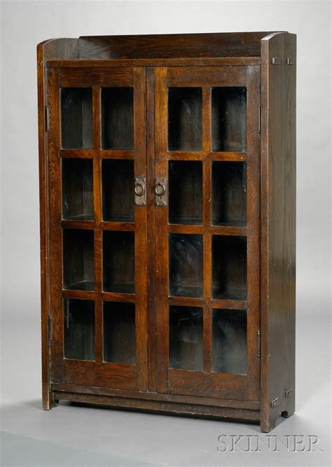stickley bookcase for sale gustav stickley double door bookcase sale number 2531b