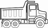 Coloring Pages Truck Construction Vehicle Clipartmag sketch template