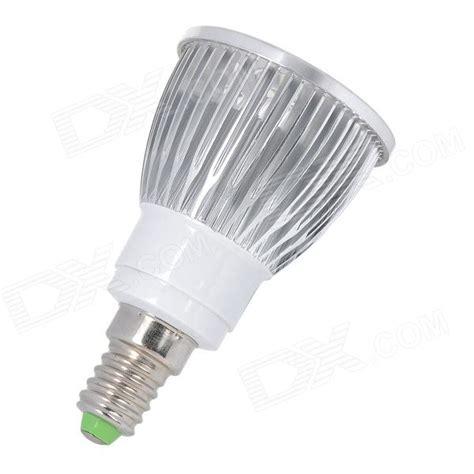 e14 5w 450lm 4000k 5 led warm white light bulb silver