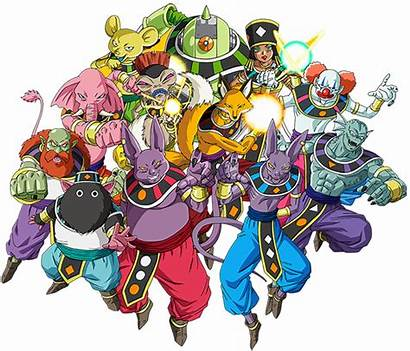 Dragon Ball Destruction Characters Tropes Heroes Dieux