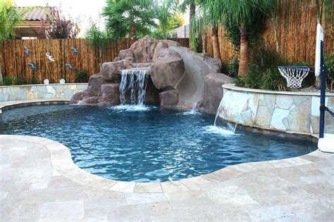 Pictures Of Backyards With Pools by Las Vegas Pool Builders