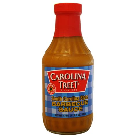 carolina style bbq sauce carolina treet south carolina style barbecue sauce 17 oz the kansas city bbq store