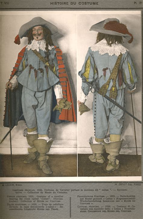 french costume   cavalier  dr martin luther