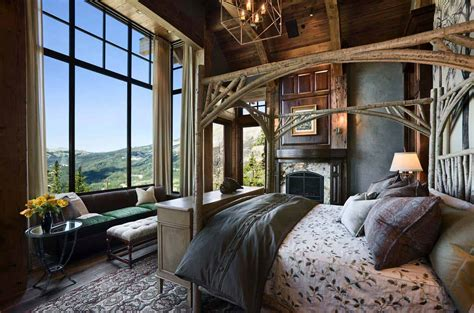 amazing rustic bedrooms styled  feel   cozy getaway