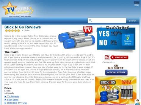 Stick N Go Reviews  Too Good To Be True?